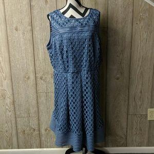 Lane bryant plus size keyhole dress